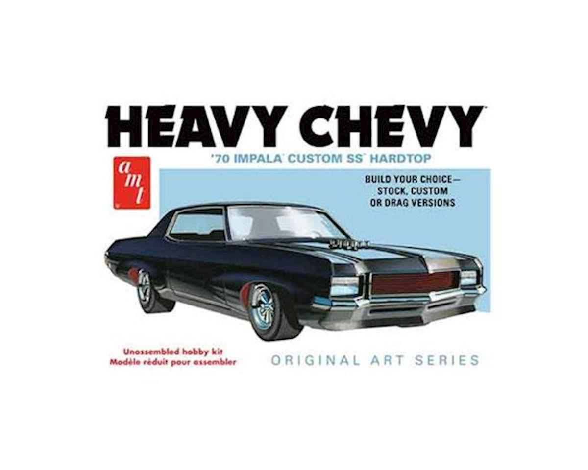 AMT 1/25 1970 Chevy Impala Heavy Chevy-Original Art