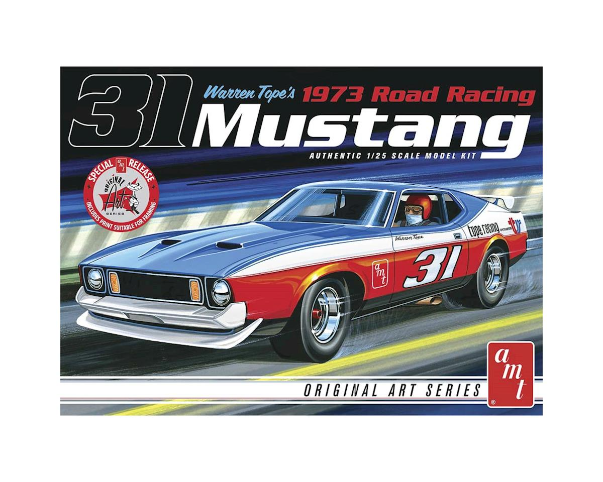 AMT Amt  1/25 Warren Tope 1973 Mustang Original Art Series