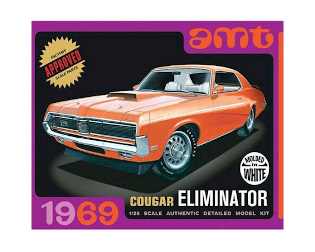 AMT 1/25 1969 Mercury Cougar White