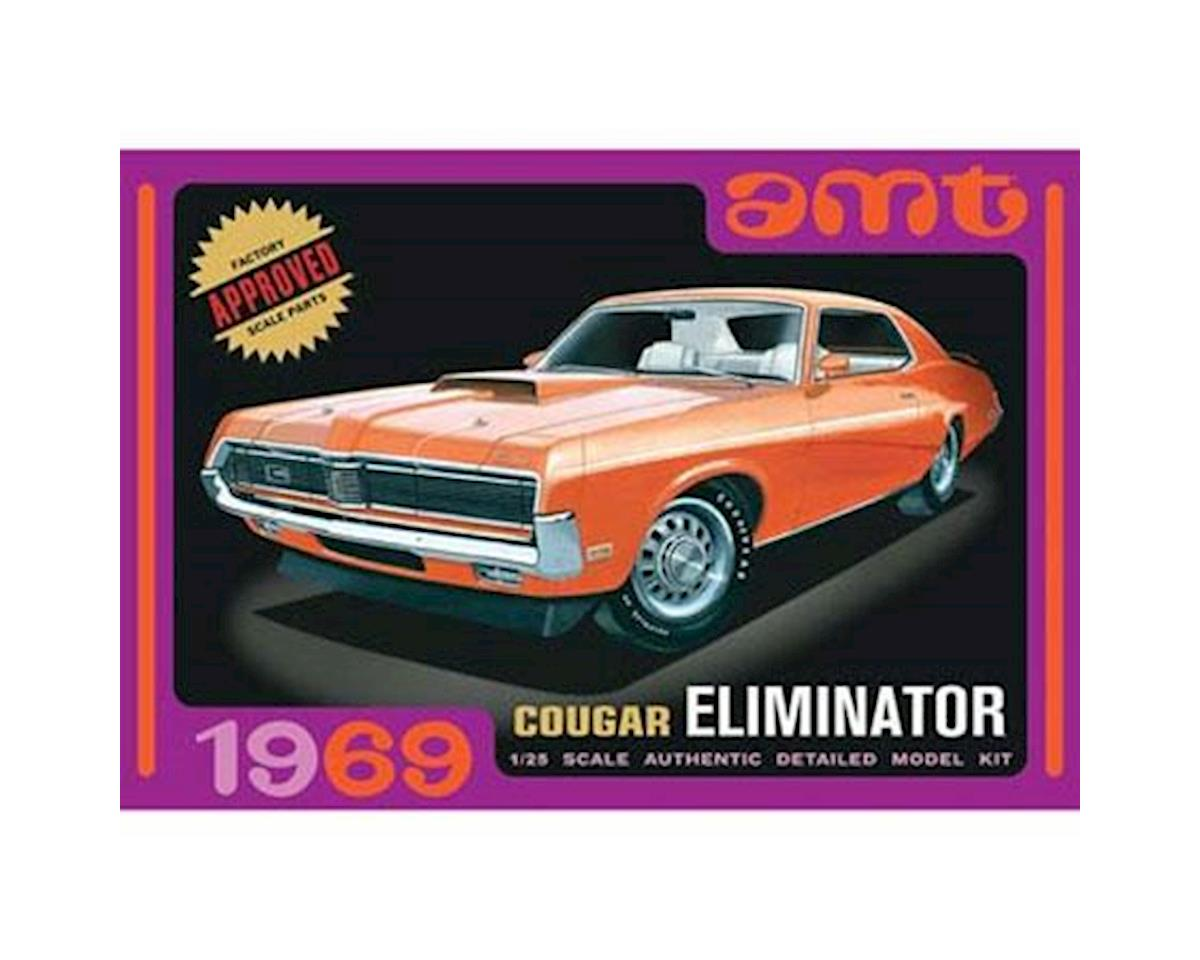 AMT 1/25 1969 Mercury Cougar Orange