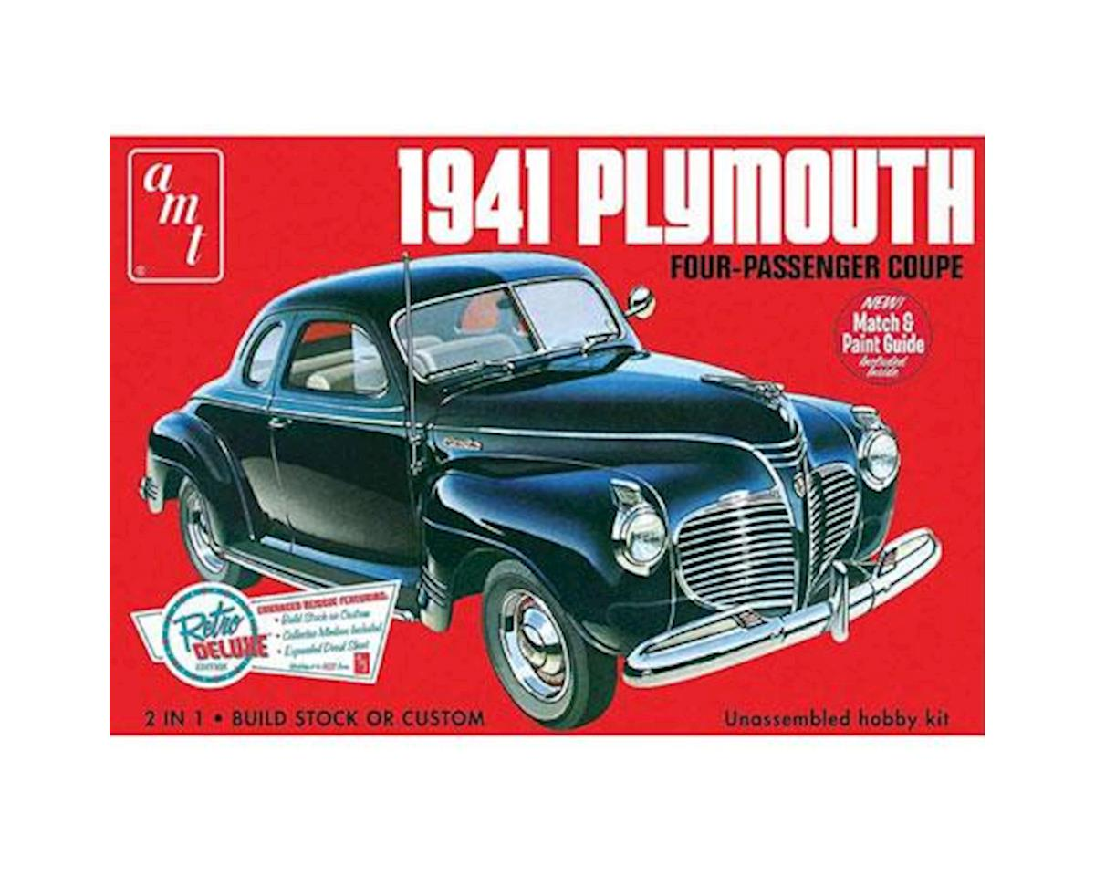 AMT 1/25,  1941 Plymouth Coupe