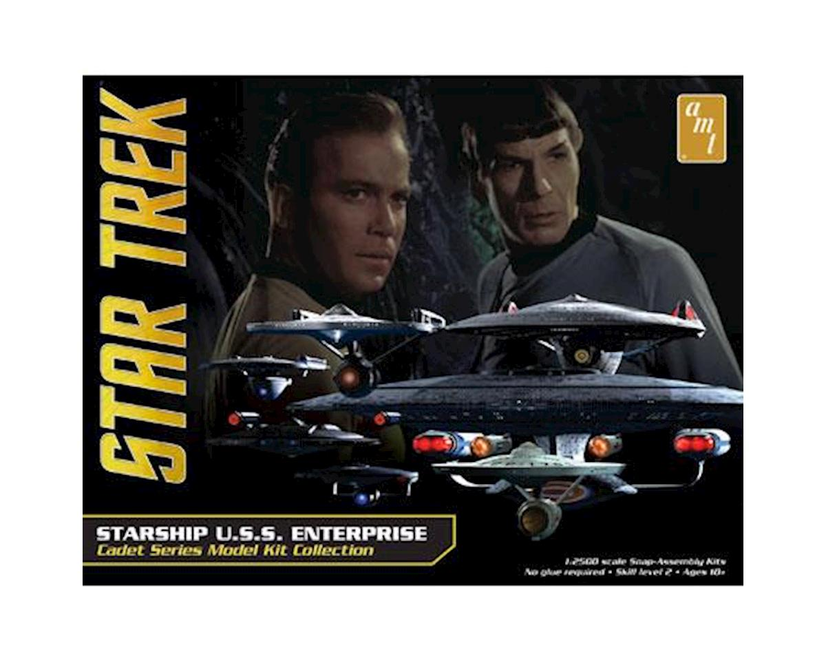 Star Trek U.S.S. Enterprise Box Set - Snap by AMT