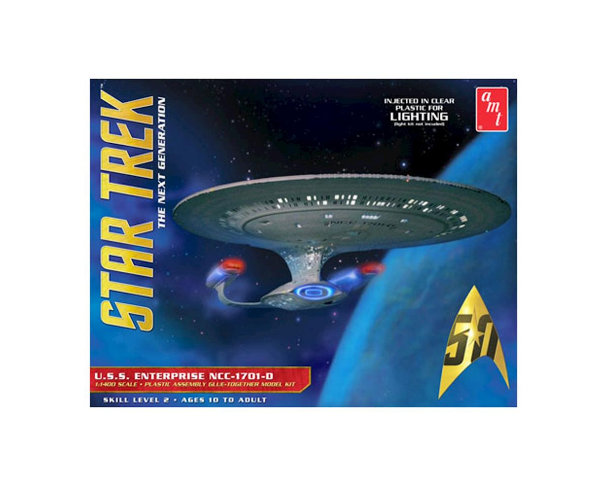 AMT Star Trek U.S.S. Enterprise  1701-D -Clear Edition