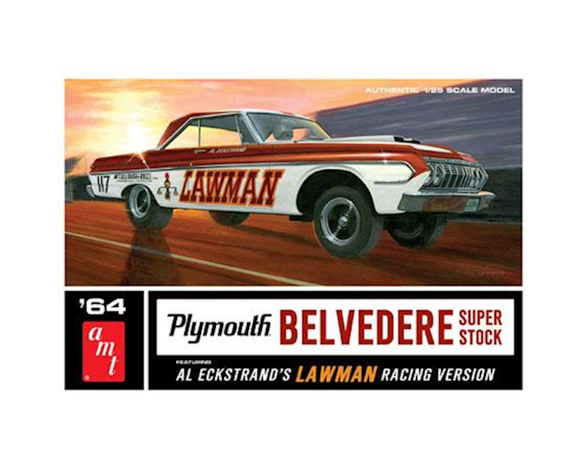 1964 Plymouth Belvedere Lawman Super Stock by AMT