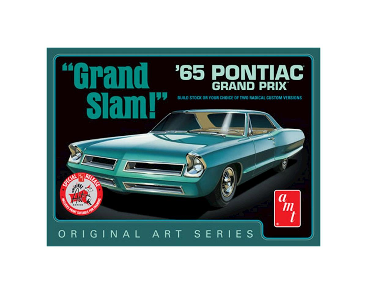 "1965 Pontiac Grand Prix ""Grand Slam"" OAS (White) by AMT"