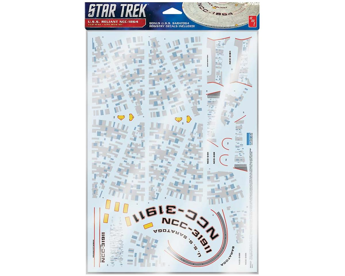 AMT MKA021/06 1/537 Star Trek U.S.S. Reliant Aztec Decals