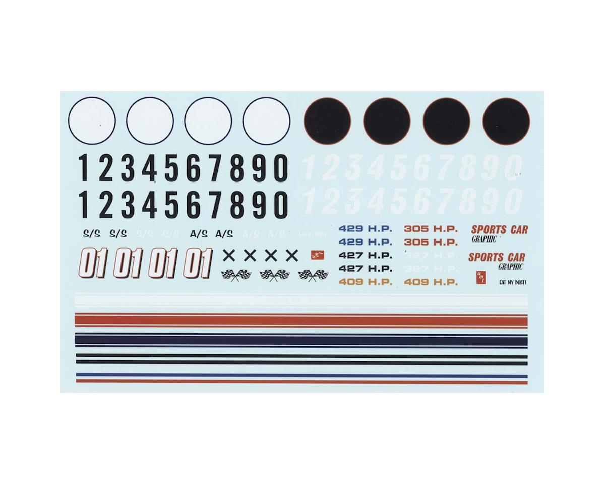 AMT MKA023/12 1/25 Road Racing Graphics Decals