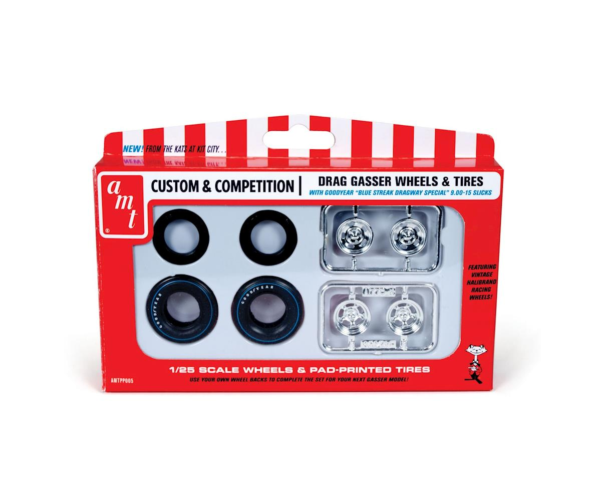 AMT 1/25 Gasser Wheels & Tire Pack