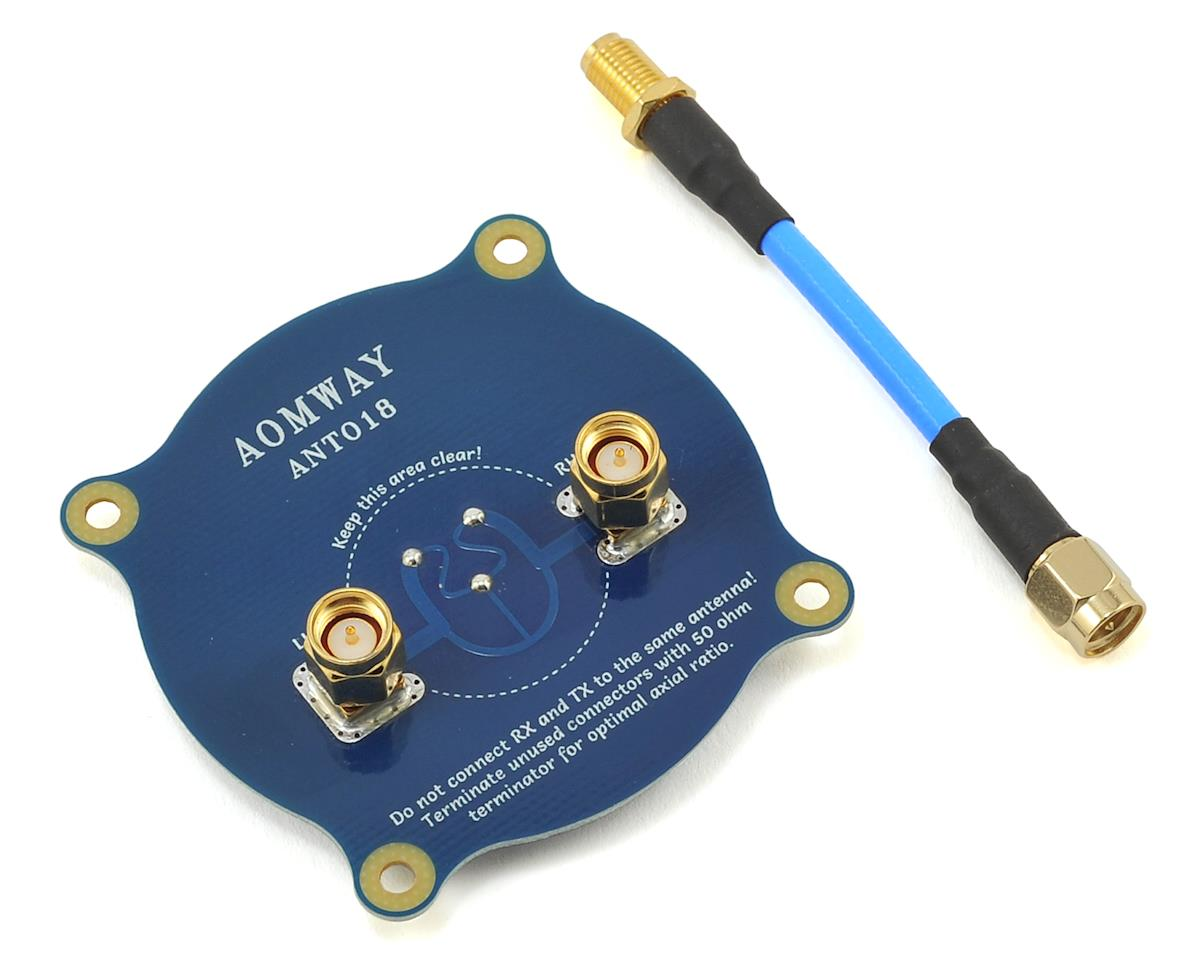 Triple Pagoda Patch Antenna (SMA)