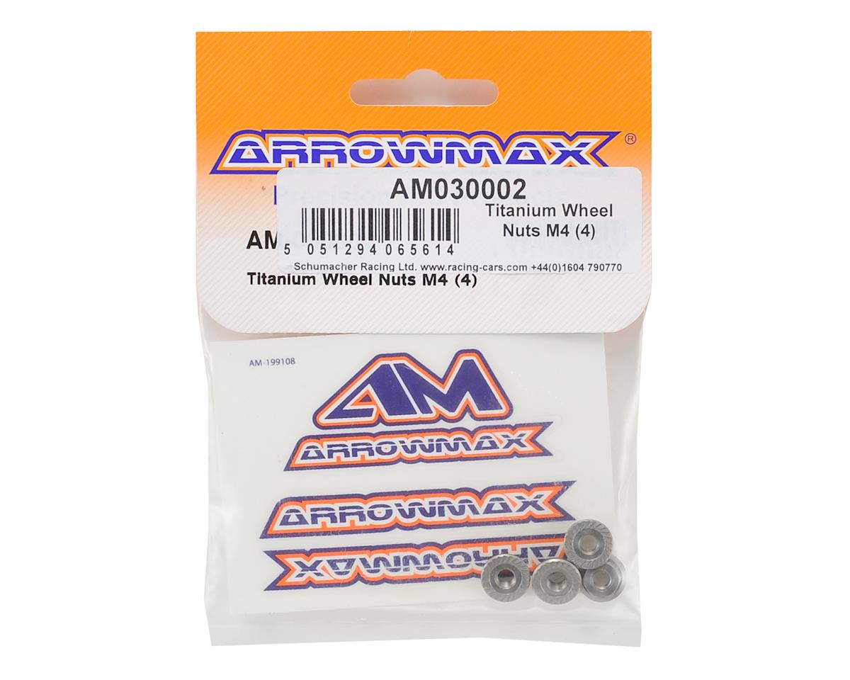 Arrowmax M4 Titanium Wheel Nut (4)