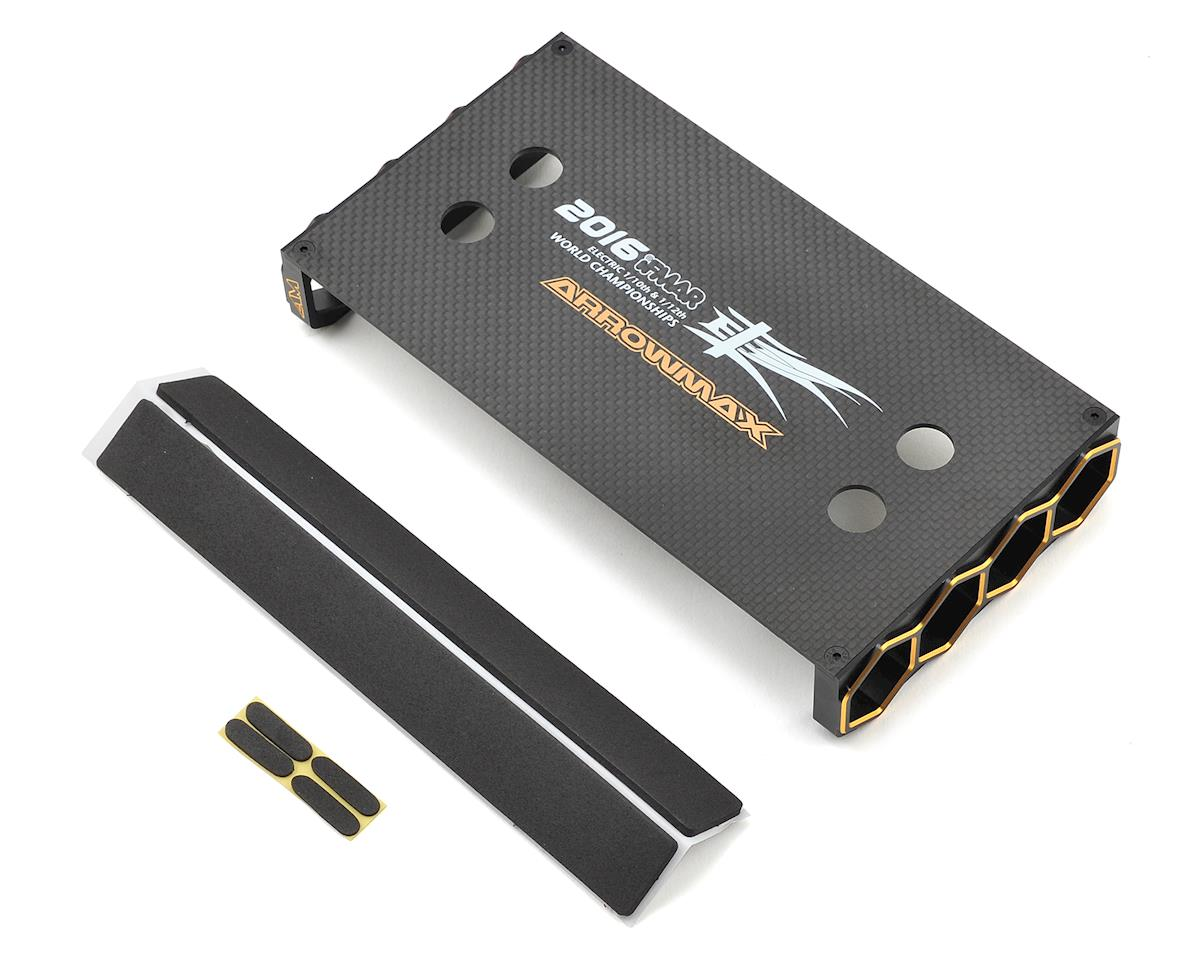 Arrowmax 2016 TC Worlds Limited Edition Black Golden Car Stand