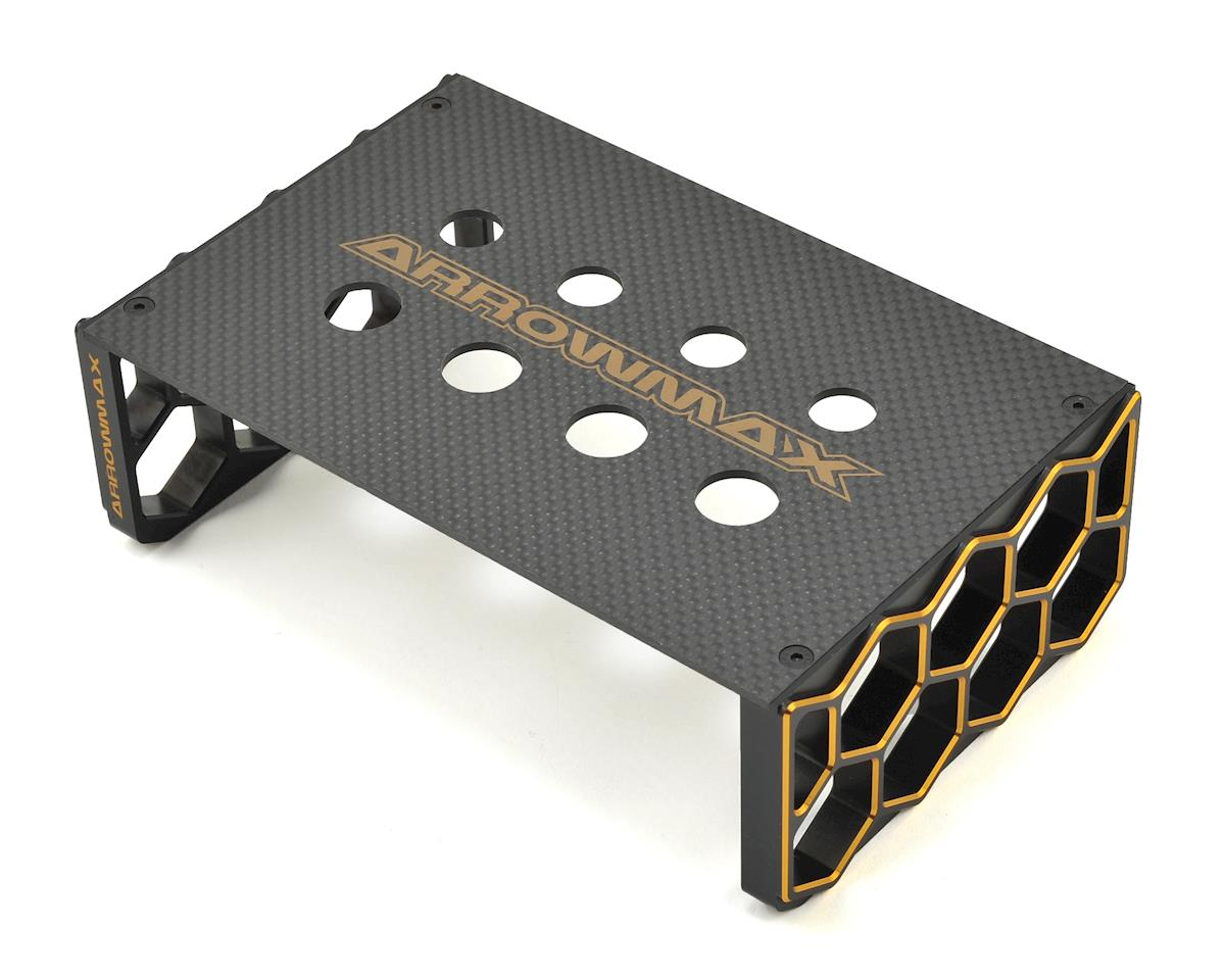 Arrowmax Black Golden 1/10 Off-Road Car Stand