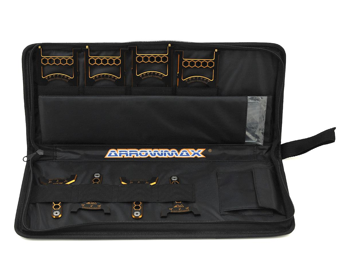Arrowmax Black Golden 1/10 Off-Road Set-Up System w/Bag