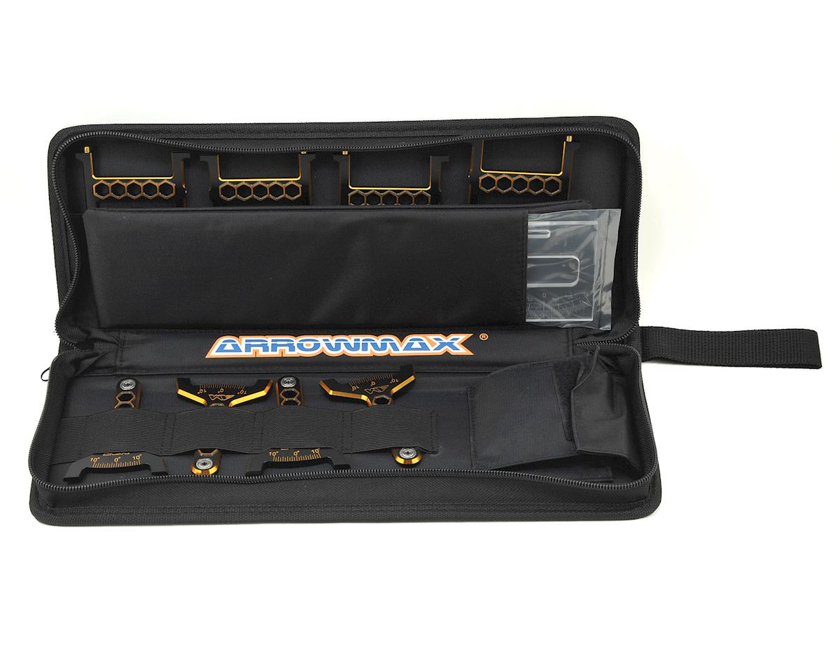 Arrowmax Black Golden 1/8 On-Road Set-Up System w/Bag