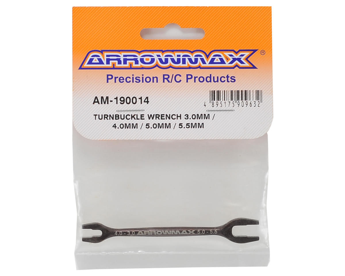 Arrowmax Turnbuckle Multi Wrench (3.0mm/4.0mm/5.0mm/5.5mm)