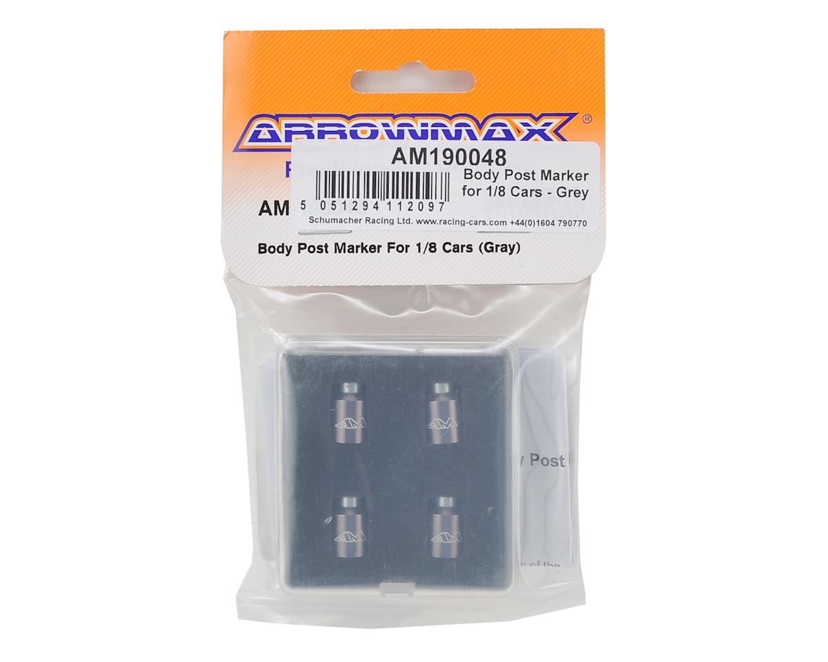 Arrowmax 1/8 Body Post Marker (Grey)