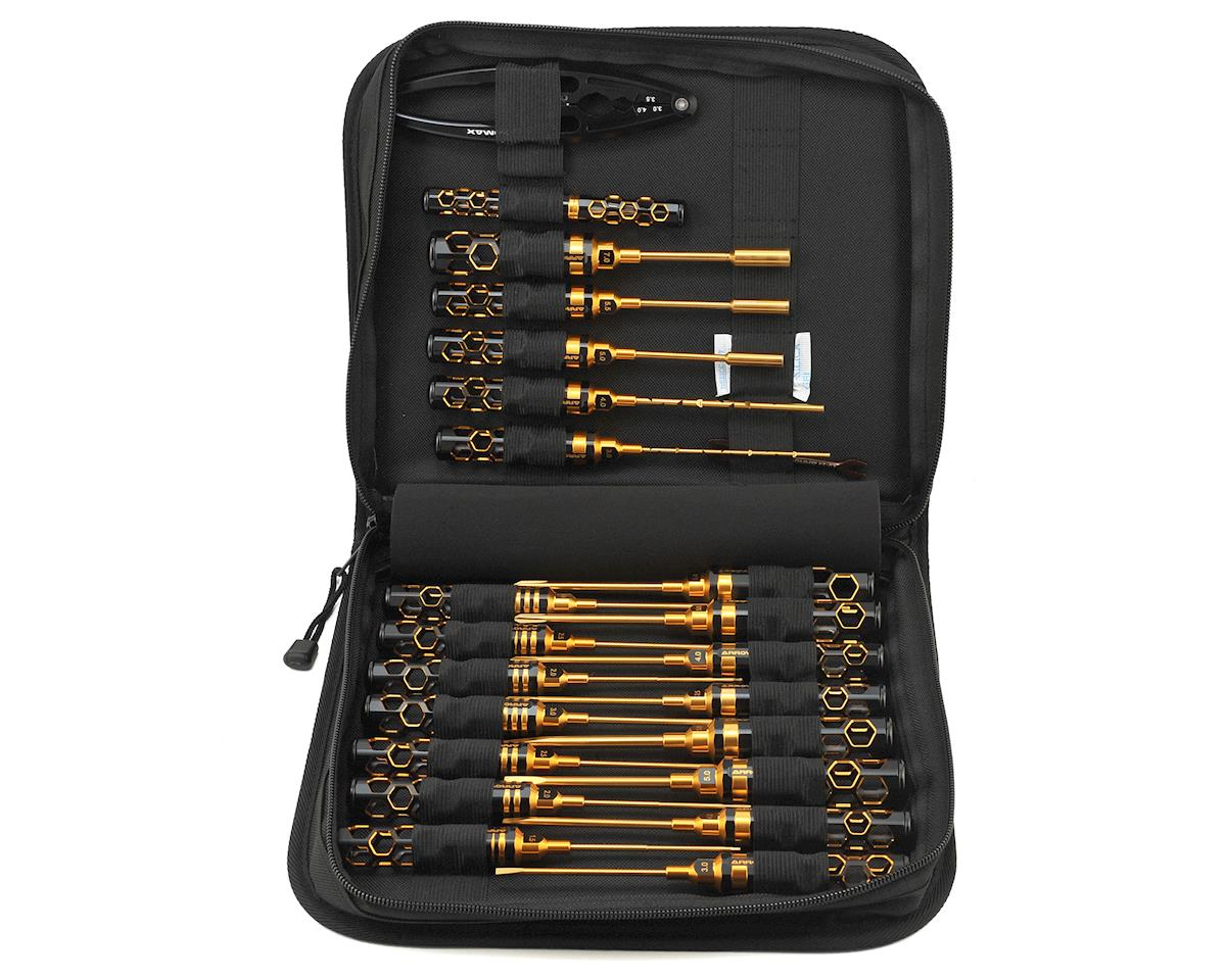 Black Golden Tool Set w/Tool Bag (23) by Arrowmax