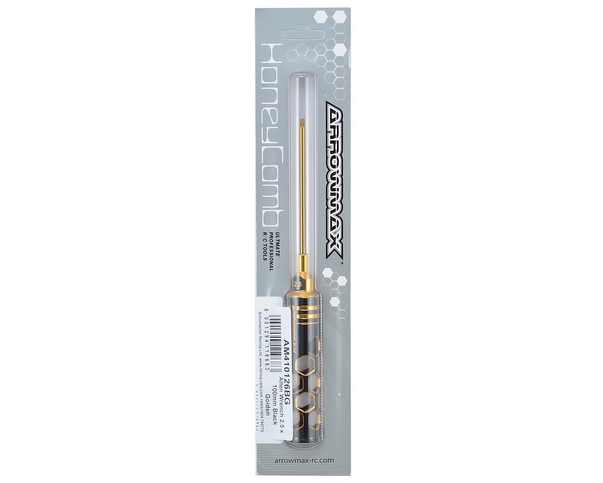 Arrowmax Black Golden Metric Allen Wrench (2.5mm)