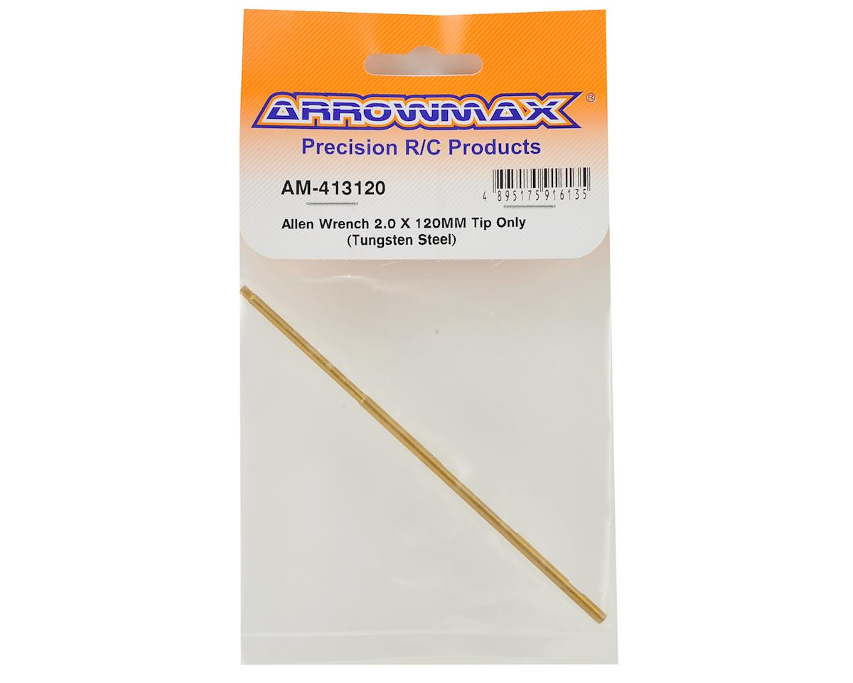 Arrowmax Tungsten Steel Replacement Hex Wrench Tip (2.0x120mm)