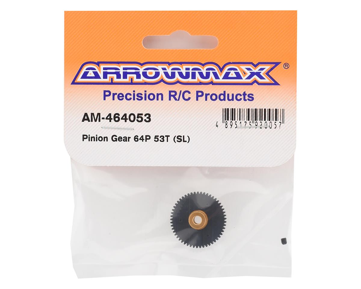 "Arrowmax ""SL"" Molded Composite 64P Pinion Gear (53T)"