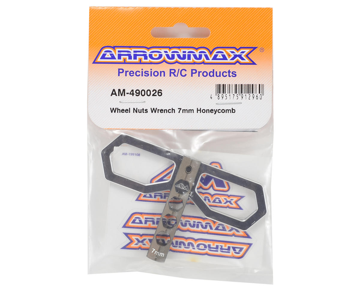 Arrowmax Honeycomb Wheel Nut Wrench (7mm)
