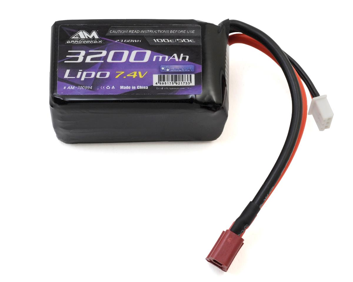 Arrowmax Tamiya Dancing Rider Soft Pack Lipo Battery w/Deans (7.4V/3200mAh)