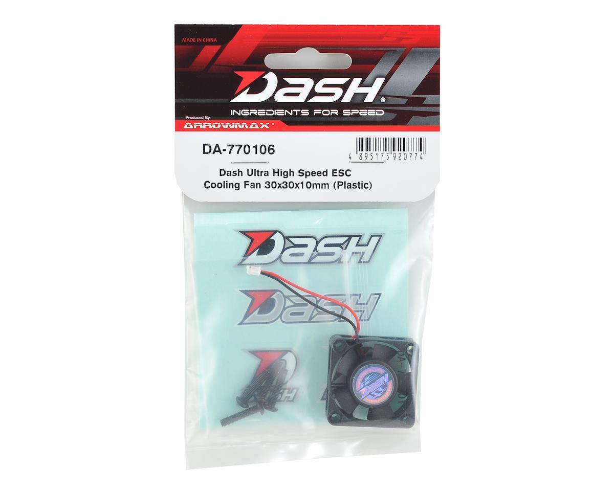 Arrowmax Dash 30x30x10mm Ultra High Speed ESC Cooling Fan (Plastic)