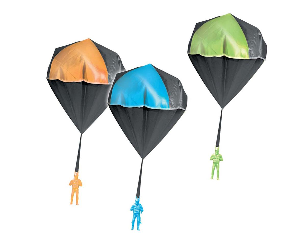 Aeromax Industries  Glow In The Dark Toy Parachute With Figure