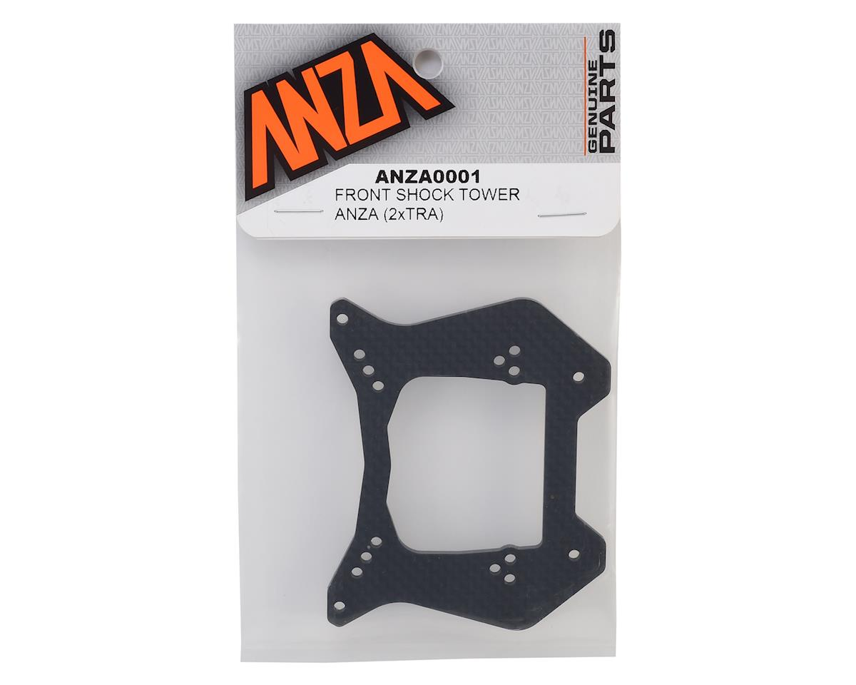 Anza 3mm Carbon Fiber Front Slash Shock Tower