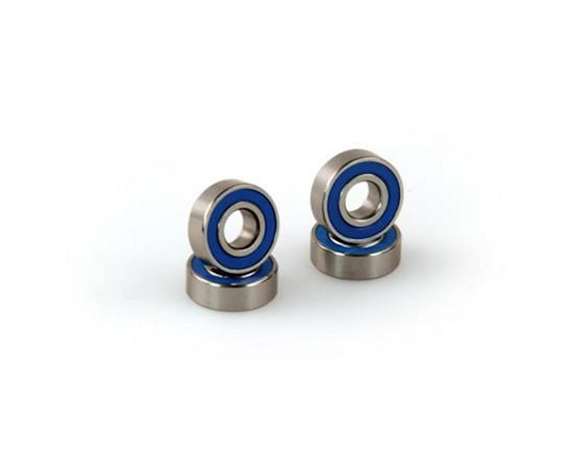 Bearings, 5x12x4mm, Rubber Sealed