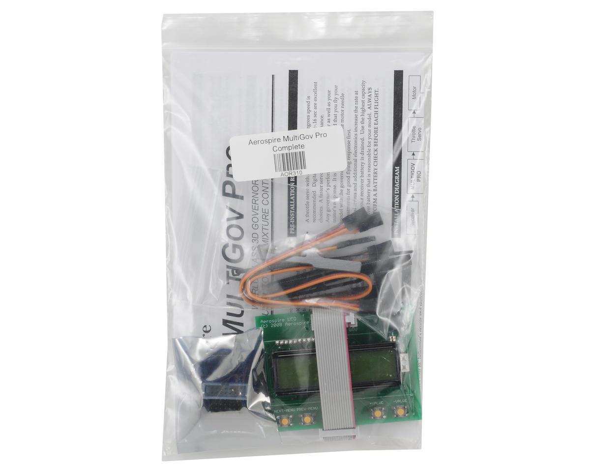 Aerospire MultiGov Pro Governor System w/LCD Module