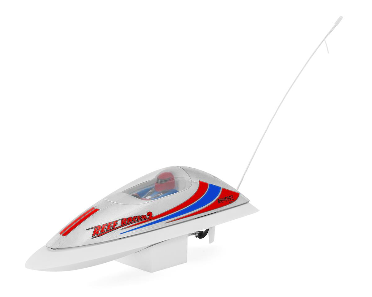 Reef Racer 2 Electric Vee-Hull Boat RTR (White) by AquaCraft