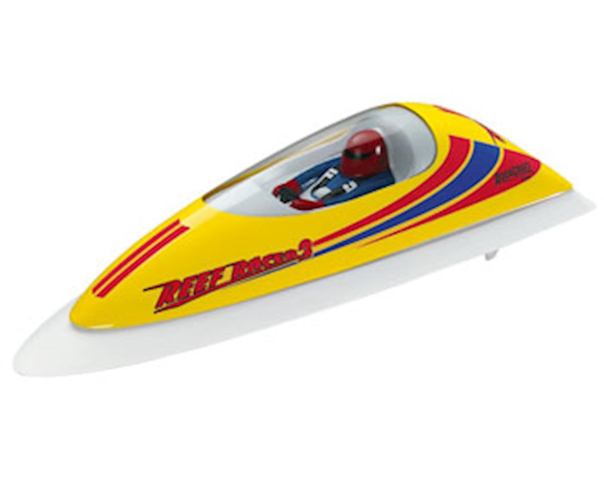 AquaCraft Reef Racer 2 Electric Vee-Hull Boat RTR (Yellow)