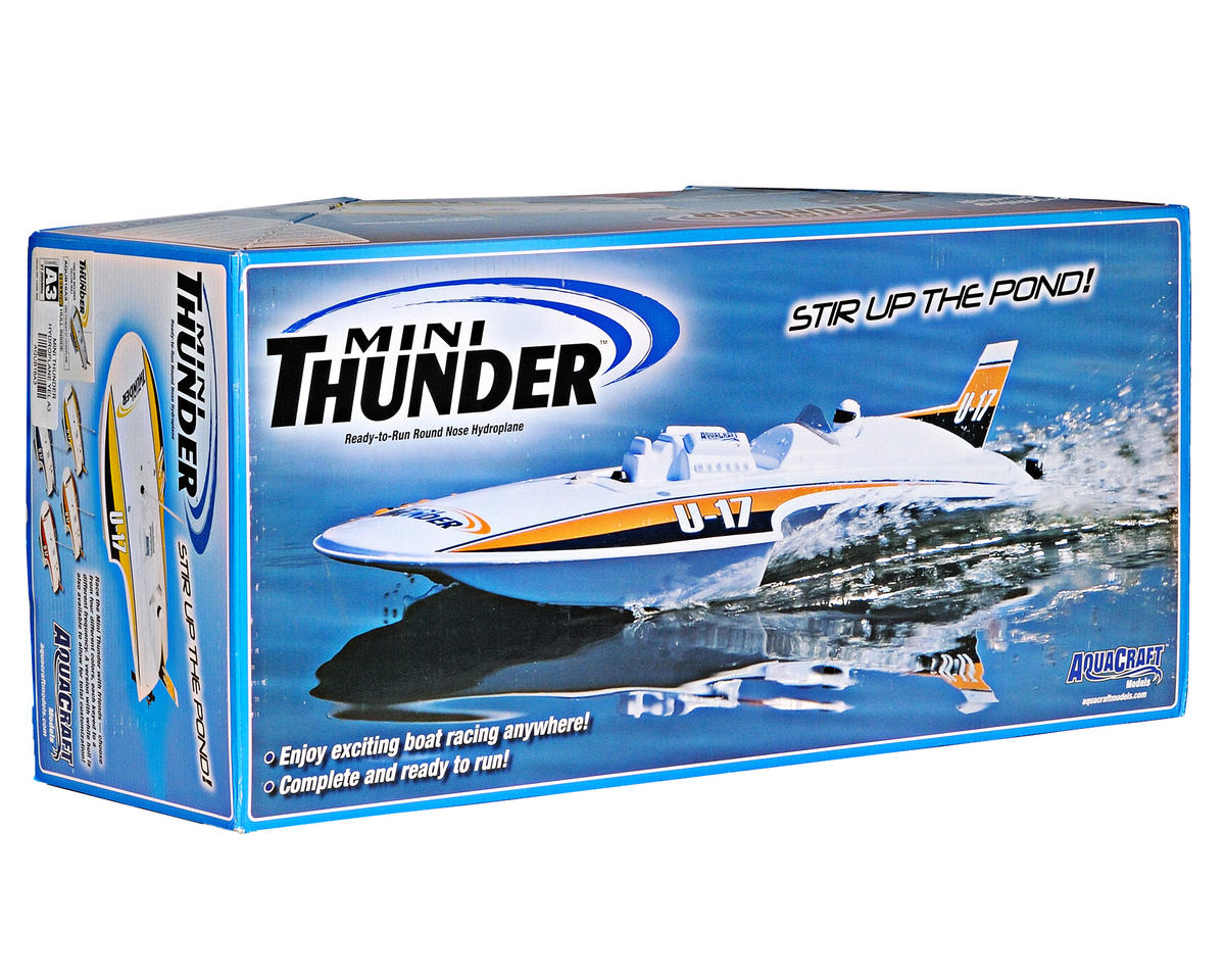AquaCraft Mini Thunder Electric Round Nose Hydroplane RTR