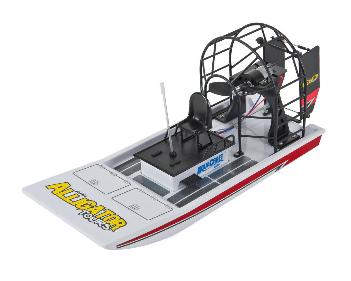 Mini Alligator Tours RTR Electric Airboat by AquaCraft