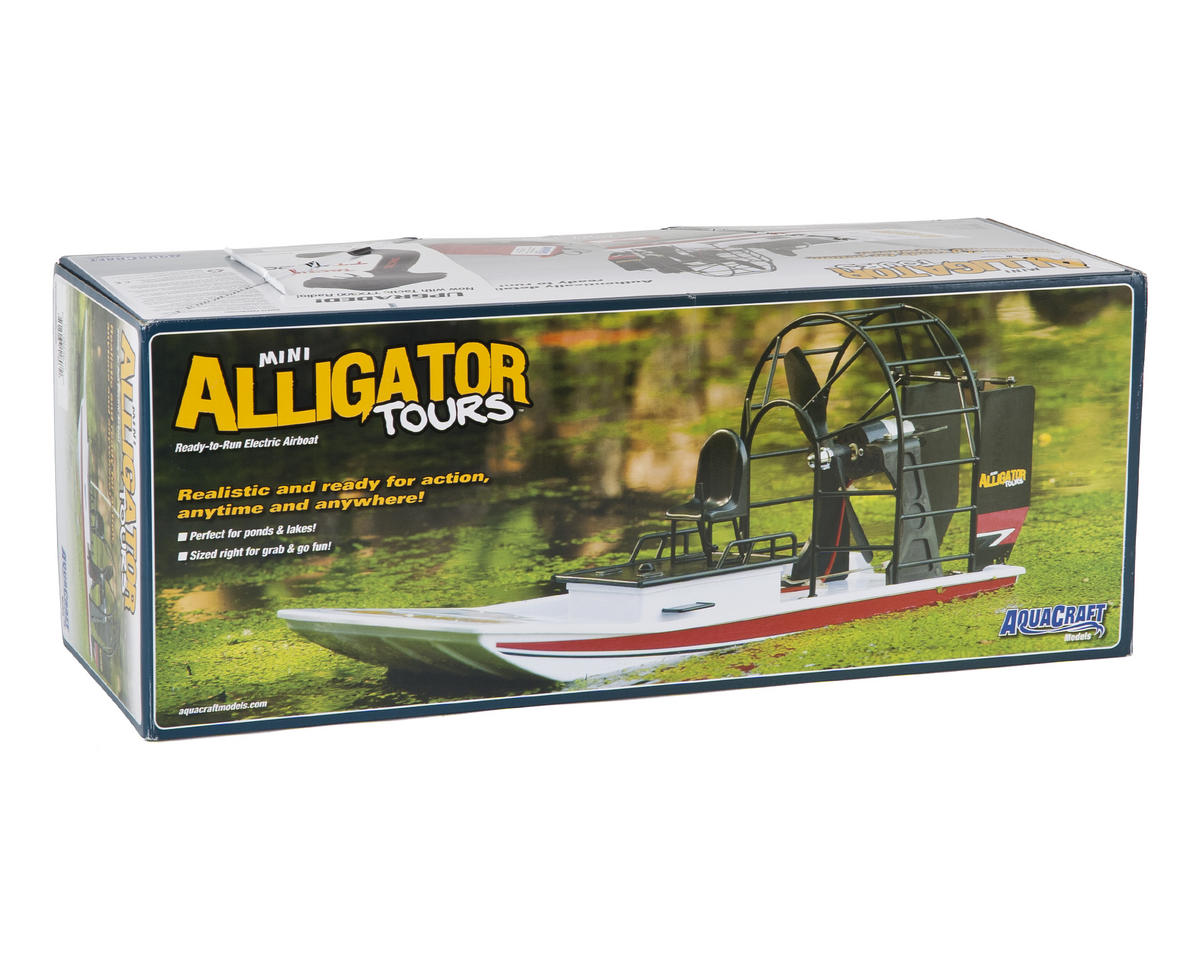 AquaCraft Mini Alligator Tours RTR Electric Airboat