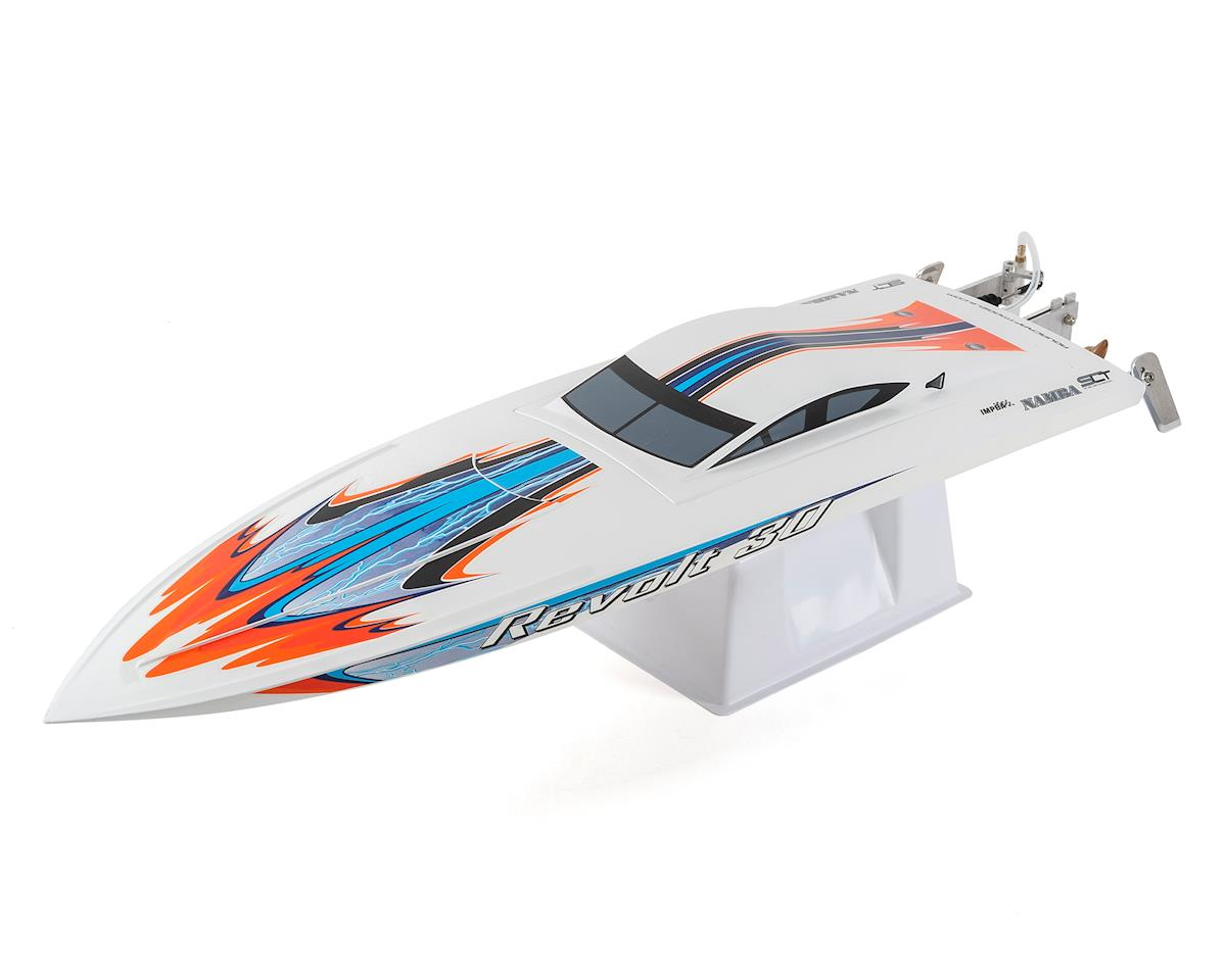 AquaCraft Revolt 30 Brushless FE Deep Vee RTR (White)
