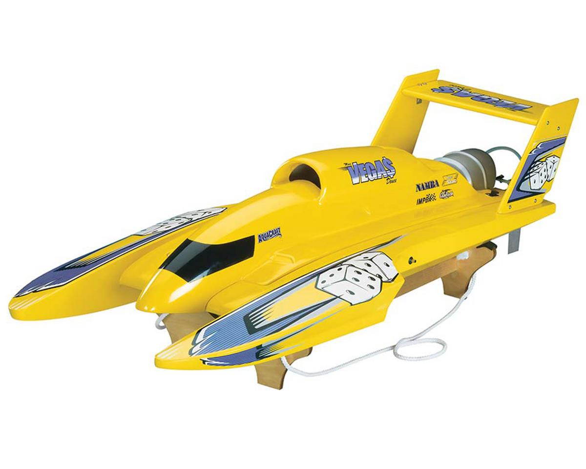 AquaCraft U-18 Miss Vegas Deuce Nitro Hydroplane RTR