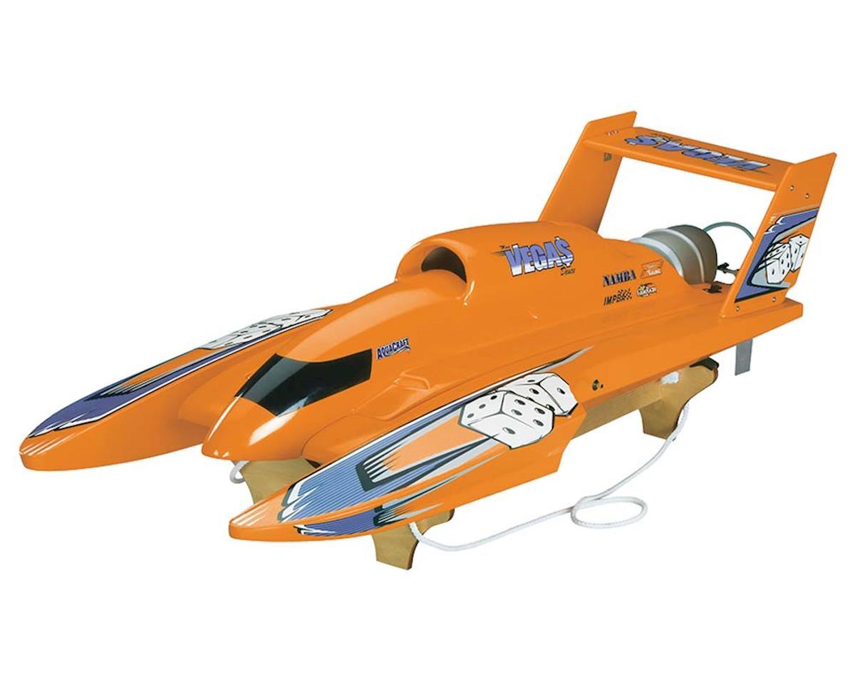 U-18 Miss Vegas Deuce Nitro Hydroplane RTR (Orange)