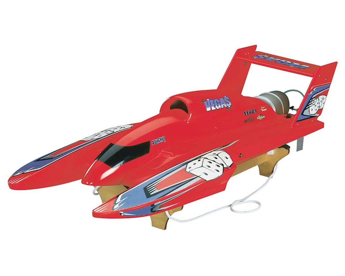 U-18 Miss Vegas Deuce Nitro Hydroplane RTR (Red)