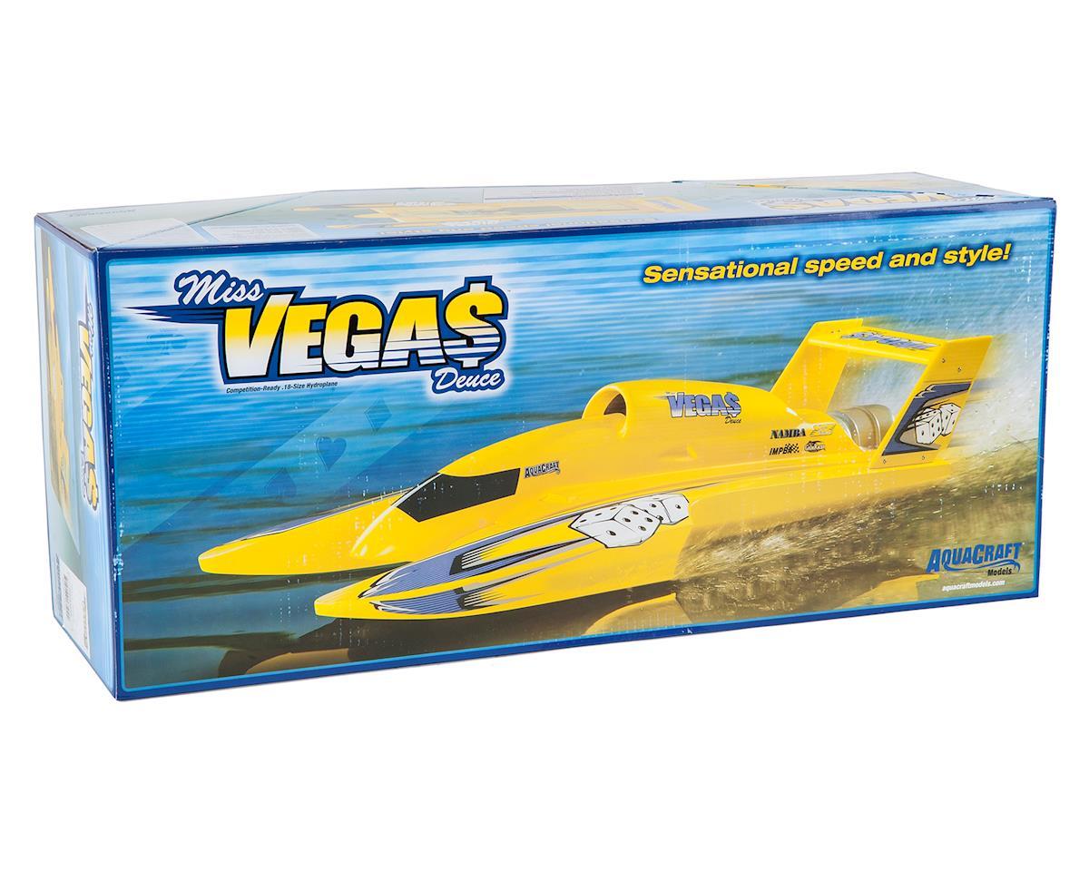 AquaCraft U-18 Miss Vegas Deuce RTR Nitro Hydro (Red)