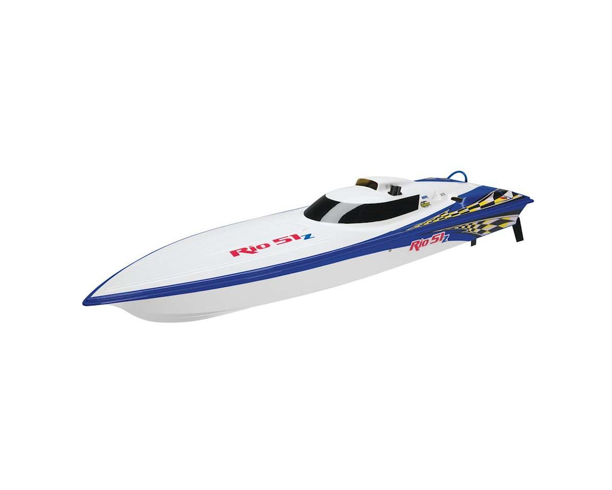 AquaCraft Rio 51Z Offshore Gas RTR w/Zenoah 26 Blue