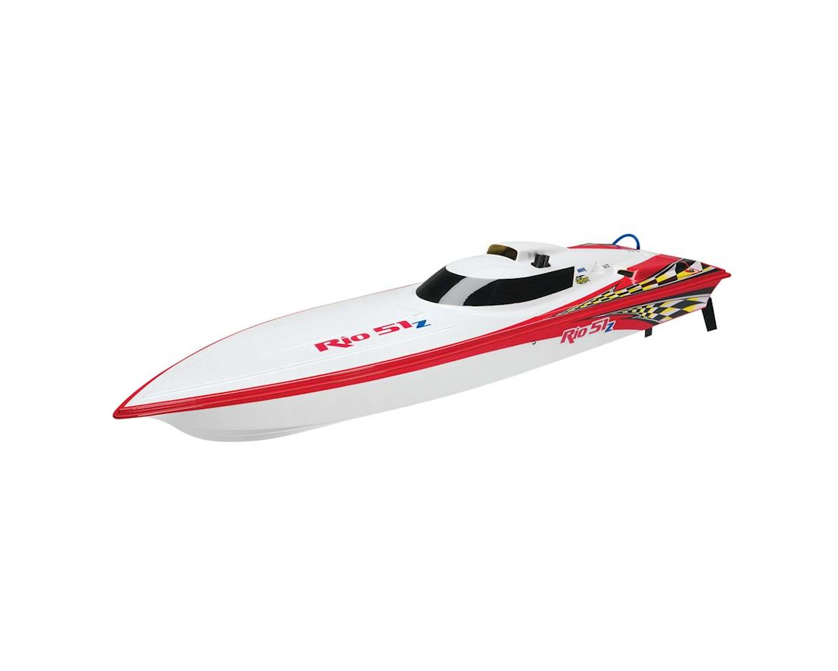 AquaCraft Rio 51Z Offshore Gas RTR w/Zenoah 26 Red