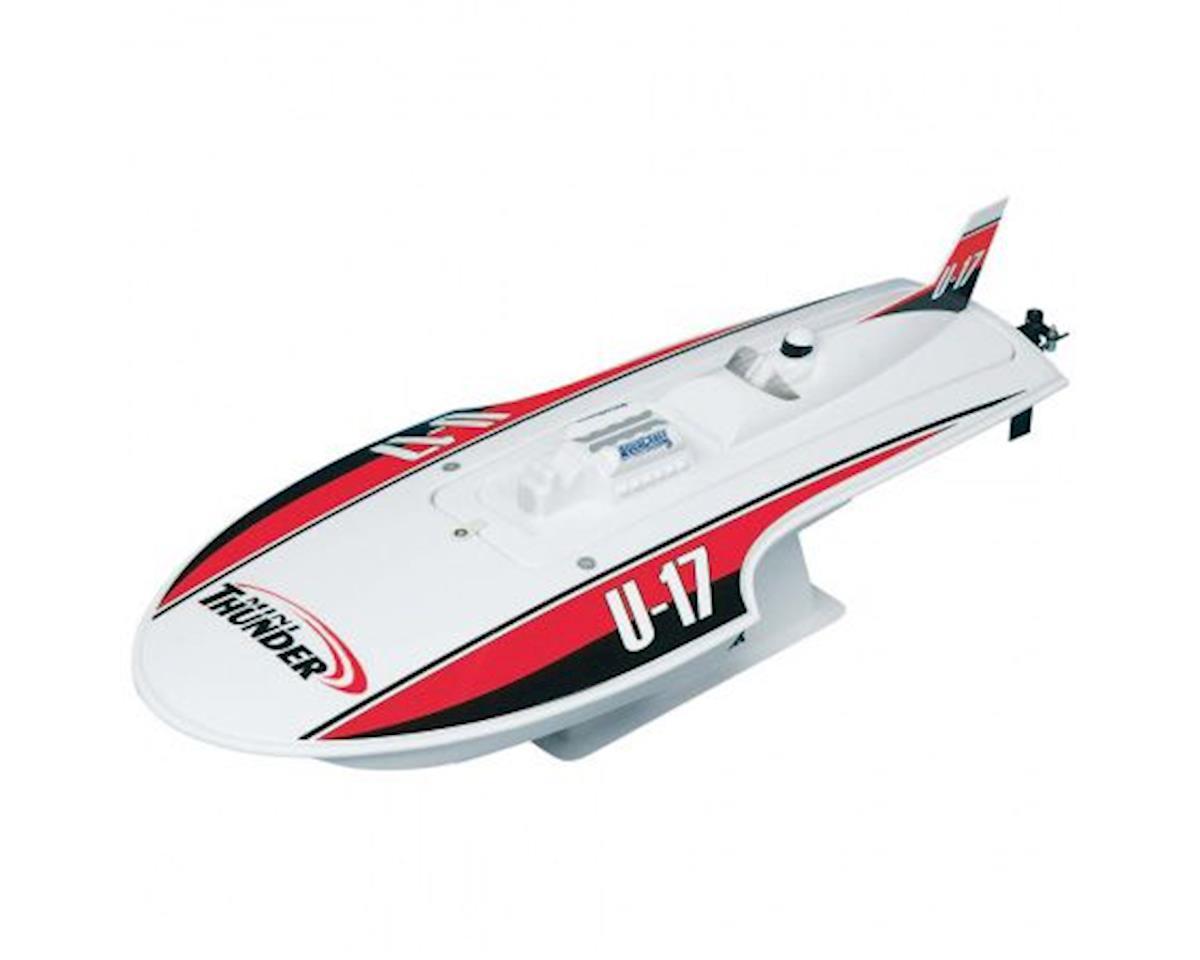 AquaCraft Mini Thunder Hydroplane RTR Boat w/2.4GHz Radio (Red)