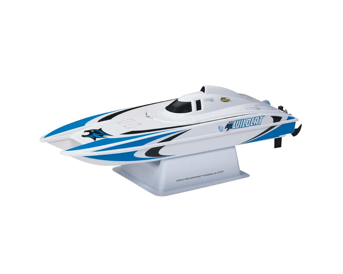 AquaCraft Mini Wildcat RTR Electric Catamaran (Blue)