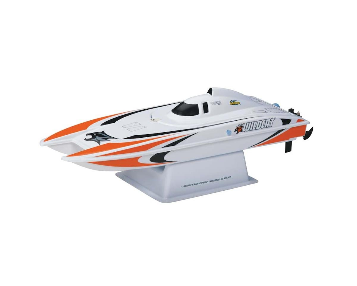 Mini Wildcat RTR Electric Catamaran (Orange) by AquaCraft
