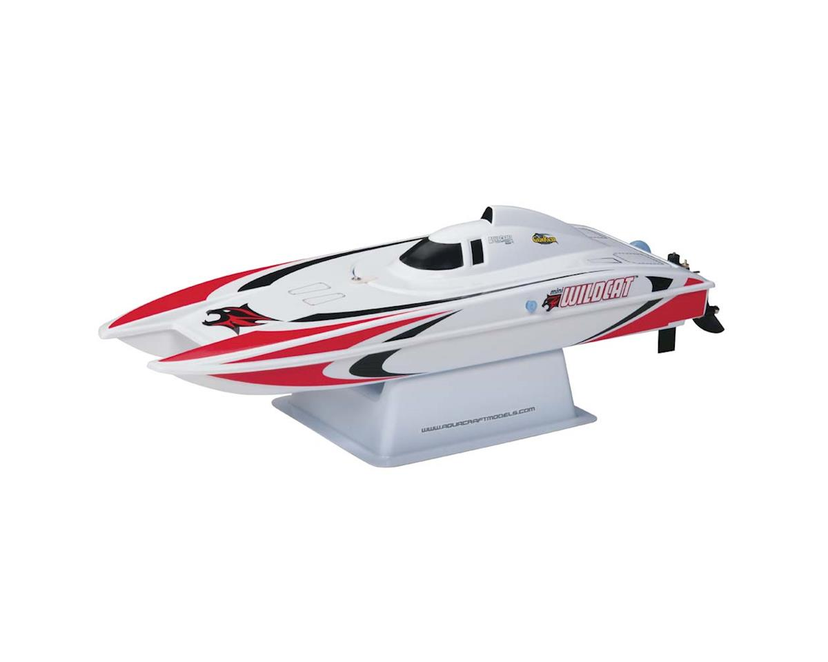 AquaCraft Mini Wildcat RTR Electric Catamaran (Red)