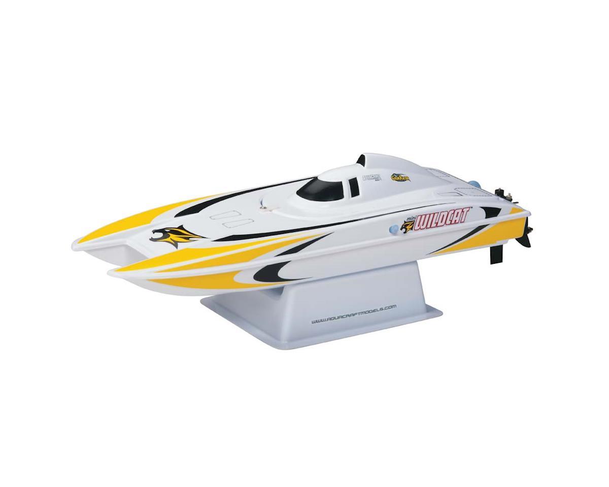 AquaCraft Mini Wildcat RTR Electric Catamaran (Yellow)