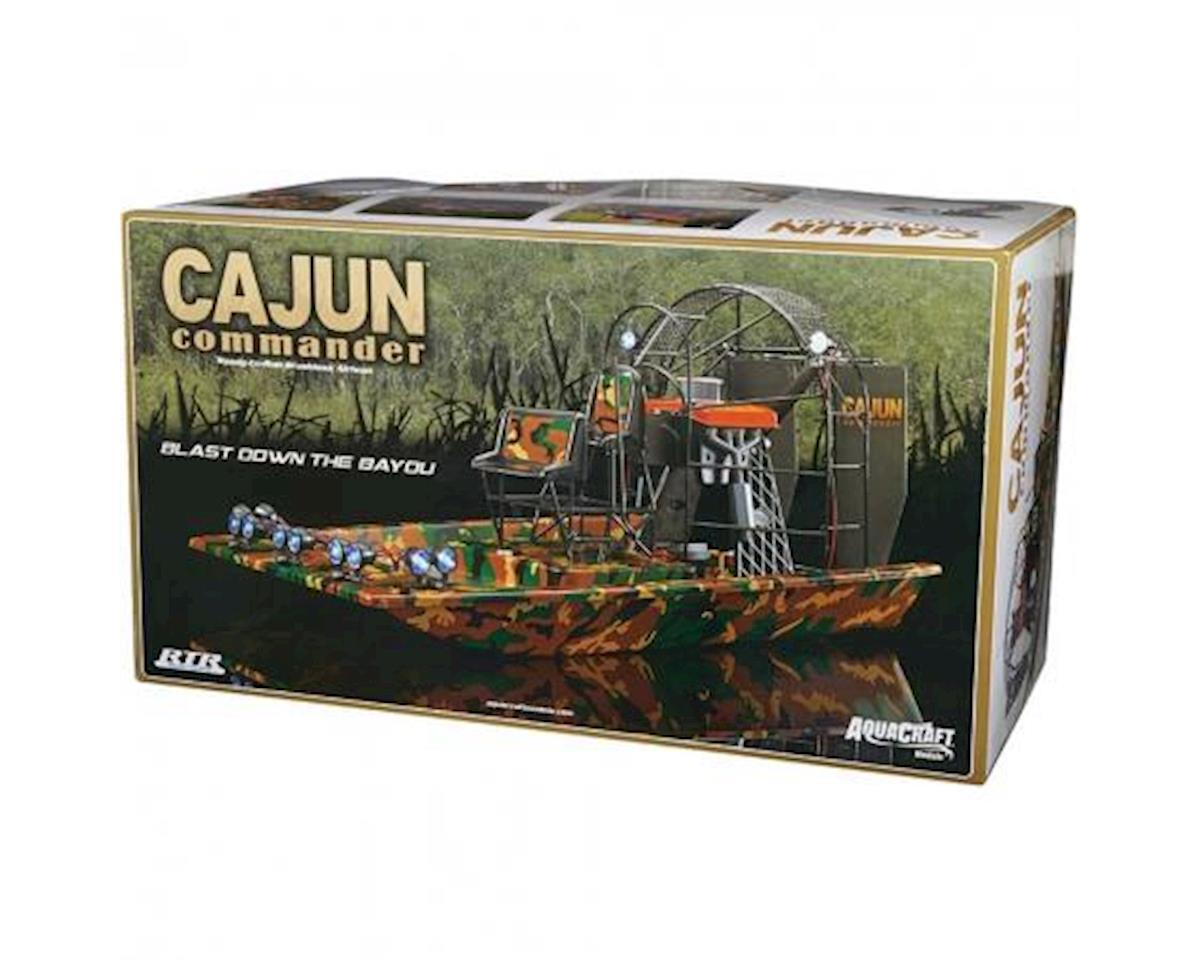 AquaCraft Cajun Commander Brushless RTR Scale Airboat w/2 4GHz Radio  [AQUB5722] | Boats
