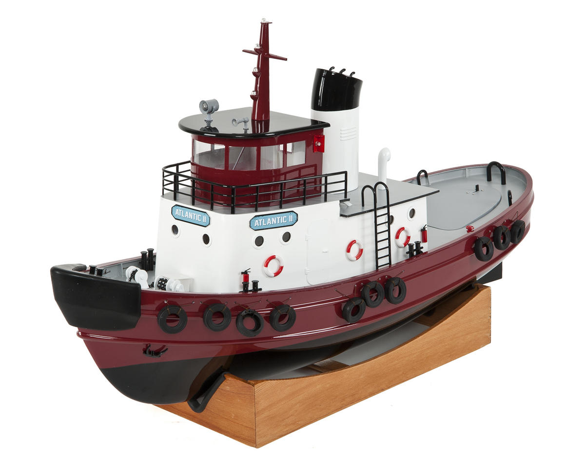 AquaCraft Atlantic II RTR Tug Boat w/2 4GHz Radio